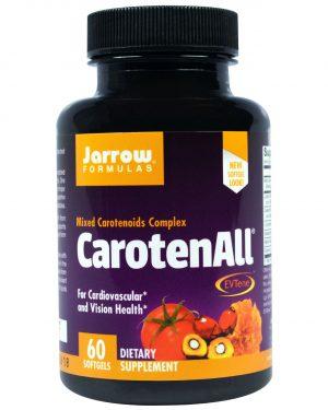 JRW 12018 13 1 300x375 - CarotenALL Mixed Carotenoids Complex (60 Softgels) - Jarrow Formulas