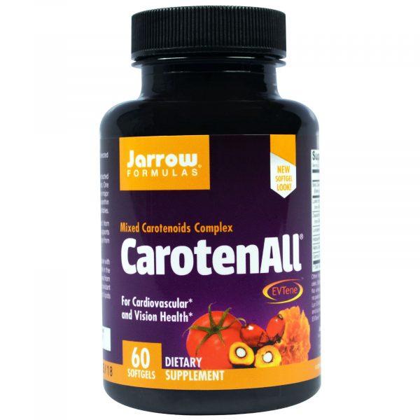 JRW 12018 13 1 600x600 - CarotenALL Mixed Carotenoids Complex (60 Softgels) - Jarrow Formulas