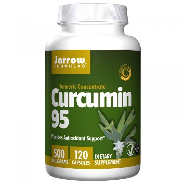 JRW 14076 9 1 600x600 - Curcumin 95, 500 mg (120 Veggie Caps) - Jarrow Formulas