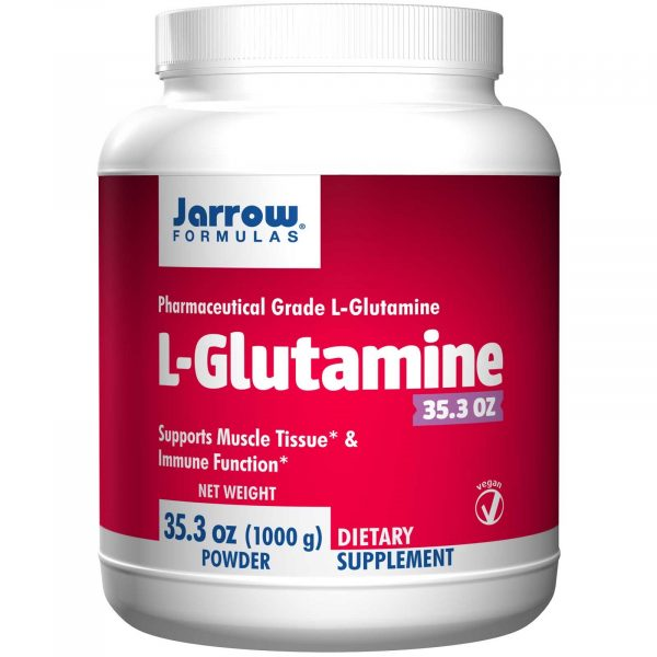 JRW 15035 11 1 600x600 - L-Glutamine Powder (1000 gram) - Jarrow Formulas