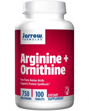 JRW 15041 9 1 300x375 - Arginine + Ornithine 750 mg (100 Tablets) - Jarrow Formulas