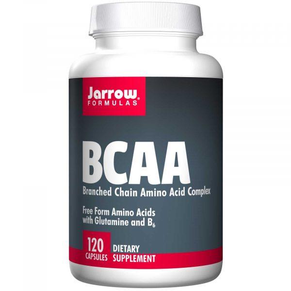 JRW 15053 7 1 600x600 - BCAA, Branched Chain Amino Acid Complex (120 Capsules) - Jarrow Formulas