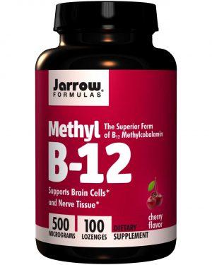 JRW 18015 9 1 300x375 - Methyl B-12 Cherry Flavor 500 mcg (100 Lozenges) - Jarrow Formulas