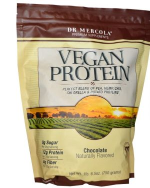 MCL 01536 1 300x375 - Vegan Protein Chocolate (750 g) - Dr. Mercola