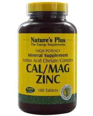 NAP 03366 3 300x375 - Cal/Mag Zinc (180 Tablets) - Nature's Plus