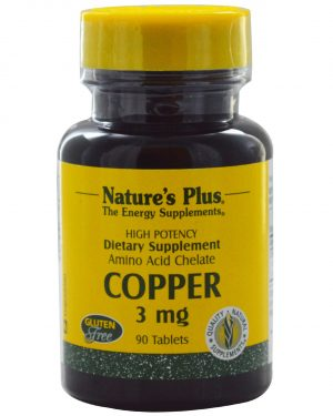 NAP 03430 2 1 300x375 - Copper, 3 mg (90 Tablets) - Nature's Plus