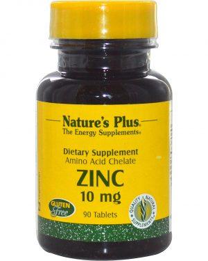 NAP 03630 2 300x375 - Zinc, 10 mg (90 Tablets) - Nature's Plus
