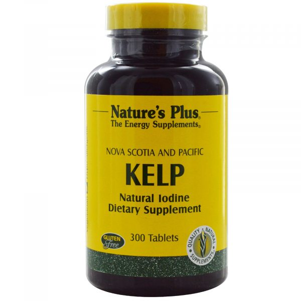 NAP 03950 2 1 600x600 - Norwegian Kelp (300 Tablets) - Nature's Plus