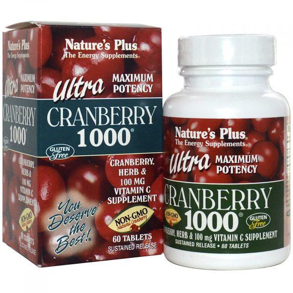 NAP 03952 2 1 600x600 - Ultra Cranberry 1000 (60 Tablets) - Nature's Plus
