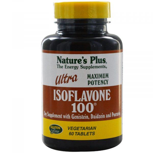 NAP 04970 2 600x600 - Ultra Isoflavone 100 (60 Veggie Tabs) - Nature's Plus
