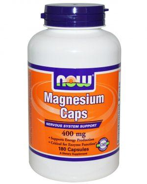 NOW 01283 5 1 300x375 - Now Foods, Magnesium Caps, 400 mg, 180 Veggie Caps