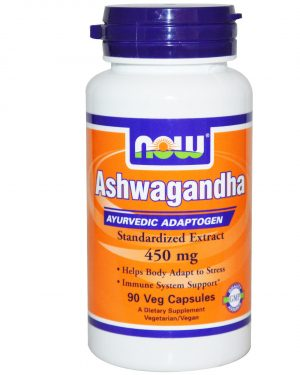 NOW 04603 9 1 300x375 - Ashwagandha 450 mg (90 Veggie Caps) - Now Foods