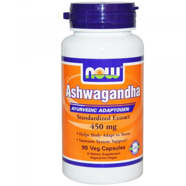 NOW 04603 9 1 600x600 - Ashwagandha 450 mg (90 Veggie Caps) - Now Foods
