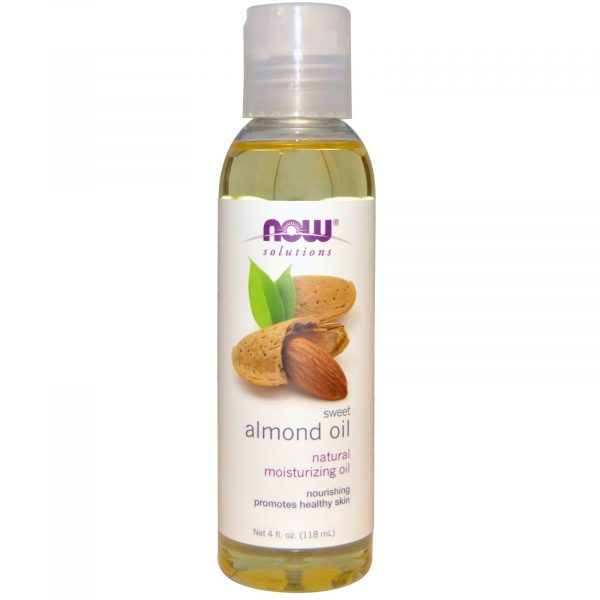 NOW 07660 8 1 600x600 - Sweet Almond Oil (118 ml) - Now Foods