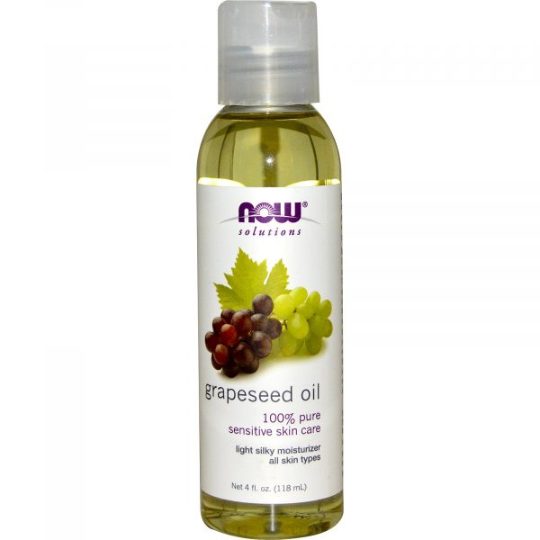 NOW 07705 1 1 600x600 - Grapeseed Oil (118 ml) - Now Foods