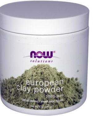 NOW 08150 2 1 300x375 - European Clay Powder (170 gram) - Now Foods