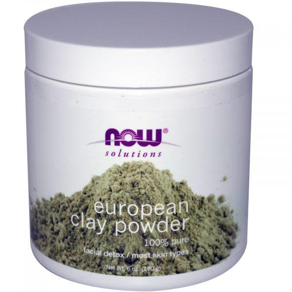 NOW 08150 2 1 600x600 - European Clay Powder (170 gram) - Now Foods