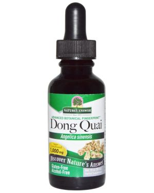 NTA 00610 3 300x375 - Dong Quai, Alcohol Free, 1000 mg (30 ml) - Nature's Answer