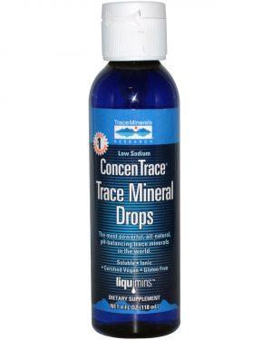 TMR 00006 2 1 300x375 - Liquimins, ConcenTrace, Trace Mineral Drops (118 ml) - Trace Minerals Research