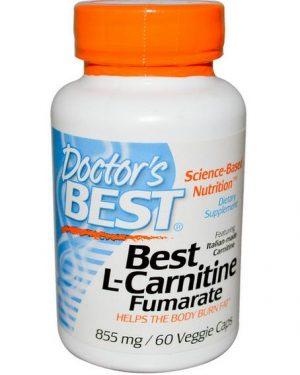 aaa1 1 300x375 - Best L-Carnitine fumaraat 855 mg (60 Veggie Caps) - Doctor's Best