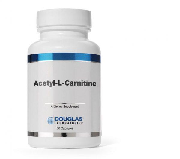 acetyl l carnitine 60 capsules 1 600x529 - Acetyl-L-Carnitine (60 capsules) - Douglas Laboratories