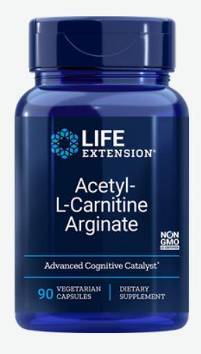 acetyl l carnitine arginate 90 veggie capsules   life extension - Acetyl-L-Carnitine Arginate (90 Veggie Capsules) - Life Extension