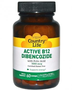 activeb12 country life 1 300x375 - Active B12 Dibencozide 3000 mcg (60 Lozenges) - Country Life