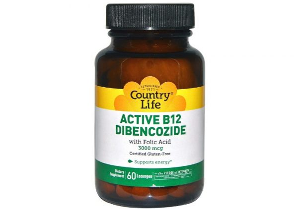 activeb12 country life 1 600x422 - Active B12 Dibencozide 3000 mcg (60 Lozenges) - Country Life