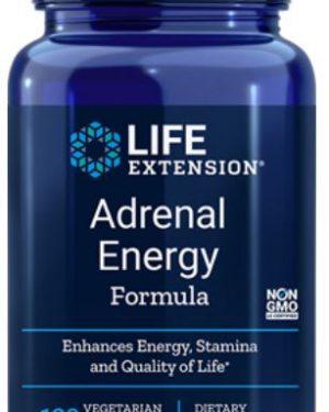 adrenal energy formula 120 veggie capsules   life extension 300x375 - Adrenal Energy Formula (120 Veggie Capsules) - Life Extension