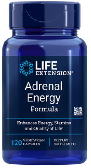 adrenal energy formula 120 veggie capsules   life extension - Adrenal Energy Formula (120 Veggie Capsules) - Life Extension