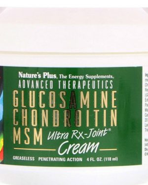 advanced therapeutics   glucosamine chondroitin msm   ultra rx joint cream 118 ml 1 300x375 - Advanced Therapeutics - Glucosamine Chondroitin MSM - Ultra Rx-Cream (118 ml) - Nature's Plus