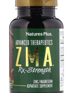 advanced therapeutics   zma rx strength 90 vegetarian capsules   nature s plus 1 300x375 - Advanced Therapeutics - ZMA Rx-Strength (90 Vegetarian Capsules) - Nature's Plus