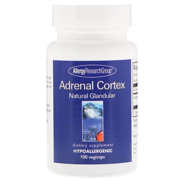 allergy adrenalcortex 150 - Adrenal Natural Glandular 150 Vegicaps - Allergy Research Group