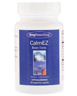 allergy calmez 300x375 - CalmEz Tonic (150 Vegetarian Capsules) - Allergy Research Group