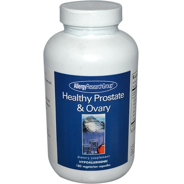 allergy healthy prostate - Chinese - Vietnamese Herbs Blend (180 Veggie Caps) - Allergy Research Group