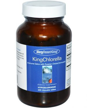 allergy kingchlorella 300x375 - KingChlorella 600 Chewable Tablets - Allergy Research Group
