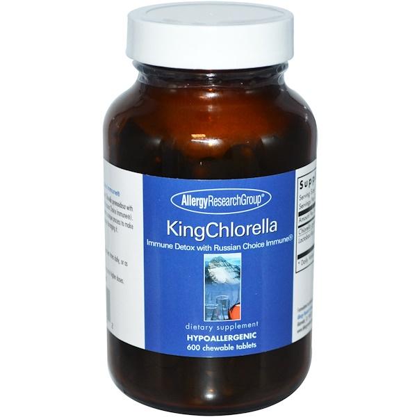allergy kingchlorella - KingChlorella 600 Chewable Tablets - Allergy Research Group