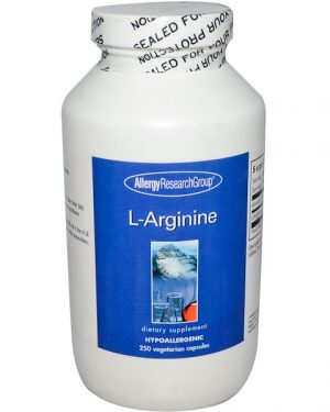 allergy larginine 250 300x375 - L-Arginine 250 Veggie Caps - Allergy Research Group