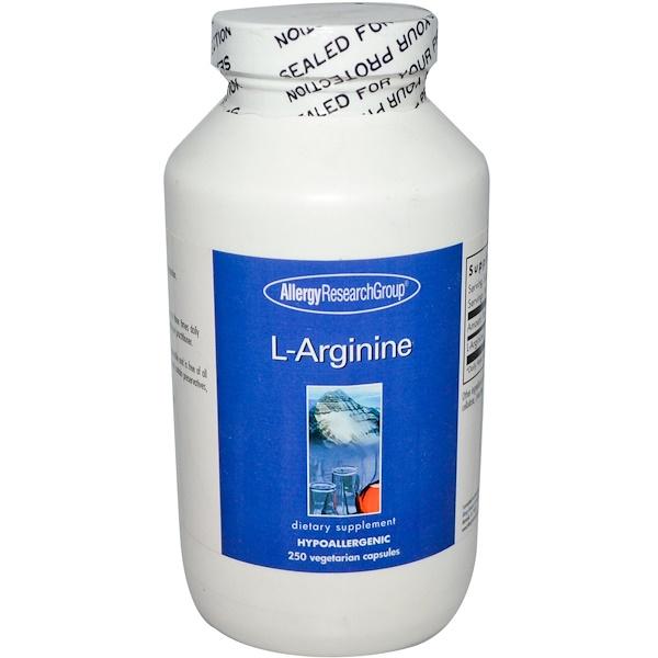 allergy larginine 250 - L-Arginine 250 Veggie Caps - Allergy Research Group