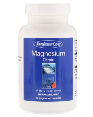 allergy magne citrate 90 300x375 - Magnesium Citrate 90 Vegetarian Capsules - Allergy Research Group