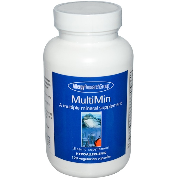 allergy multi 120 - MultiMin 120 Veggie Caps - Allergy Research Group
