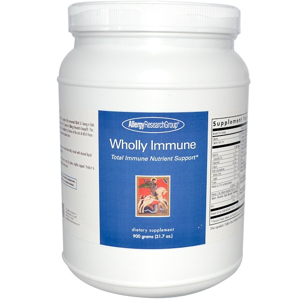 allergy wholly immune powder - Herbs - Nutrients Blend (900 g) - Allergy Research Group