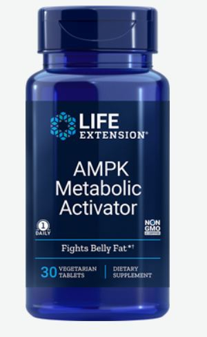 ampk metabolic activator 30 vegetarian tablets   life extension - AMPK Metabolic Activator (30 Vegetarian Tablets) - Life Extension