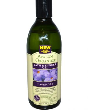 avalon organics bath shower gel 1 300x375 - Bad & Douche Gel, Lavendel (355 ml) - Avalon Organics