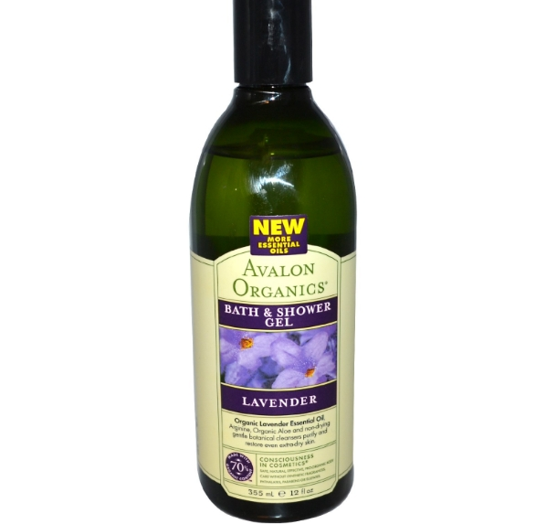 avalon organics bath shower gel 1 - Bad & Douche Gel, Lavendel (355 ml) - Avalon Organics