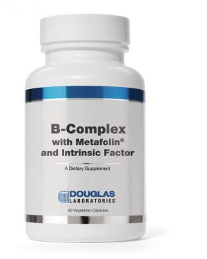 b complex metafolin and intrinsic factor 8713975991120 2 300x375 - B-complex met Metafolin ® en intrinsieke factor (60 vegetarische caps) - Douglas Laboratories