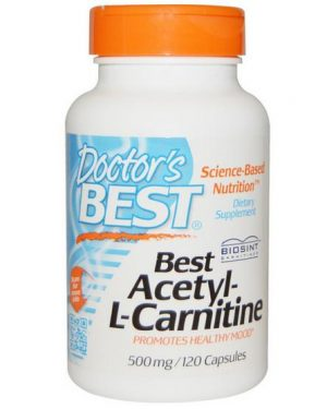 bal 1 300x375 - Best Acetyl-L-Carnitine 500 mg (120 Capsules) - Doctor's Best