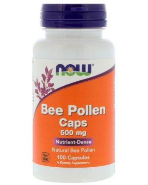 beepollen now 1 300x375 - Bee Pollen Caps 500 mg (100 Capsules) - Now Foods