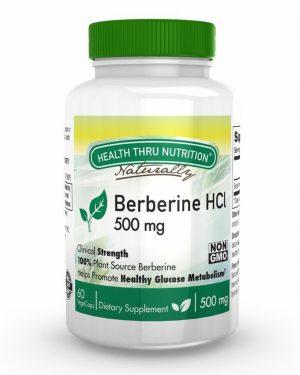 berberine hcl 500mg 60 vegecaps 1 300x375 - Berberine HCl 500 mg (non-GMO) (60 Vegicaps) - Health Thru Nutrition