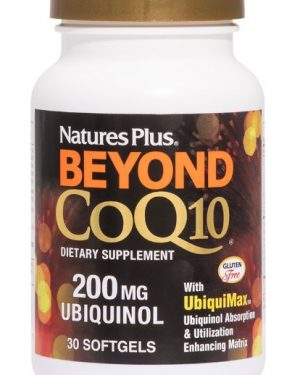 beyond coq10 ubiquinol 200 mg 60 softgels   nature s plus1 1 300x375 - Bioperine 10 (90 Vegetarian Capsules) - Nature's Plus